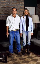 Ernesto y Carolina de la serie POTENCIAL / Ernesto and Carolina from the series POTENTIAL