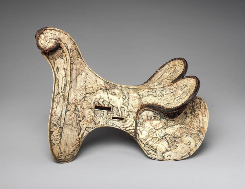 Parade Saddle with Chivalric Scenes