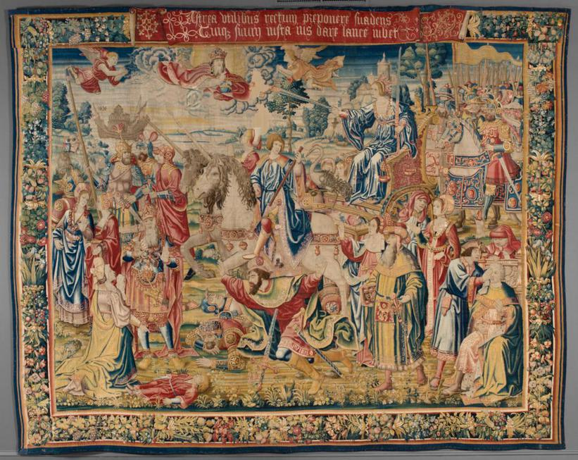Tapestry with the Triumph of Justice
