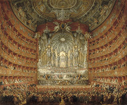 The Musical Performance in the Teatro Argentina in Honor of the Marriage of the Dauphin
