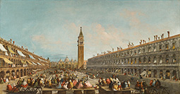 Doge Pietro Grimani Carried into Piazza San Marco after His Election