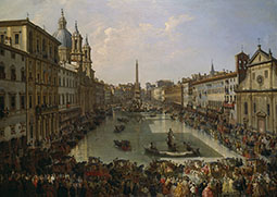 The Flooding of the Piazza Navona