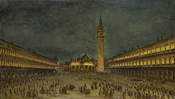 The Nocturnal Good Friday Procession in Piazza San Marco